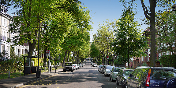 Belsize Park – the grand Belsize Avenue